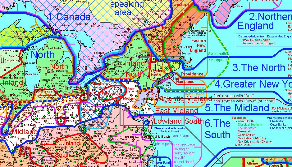 dialect-map-pennsylvania