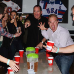 Testy scene from last year's Flip Cup Tournament. | Photo by HughE Dillon