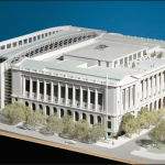 rendering of free library addition