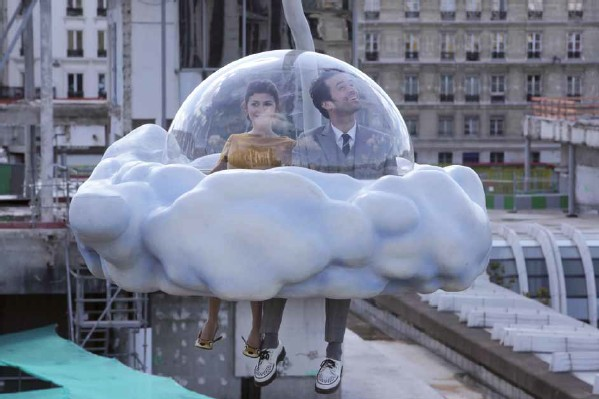 Romain Duris and Audrey Tatour in Michel Gondry's Mood Indigo
