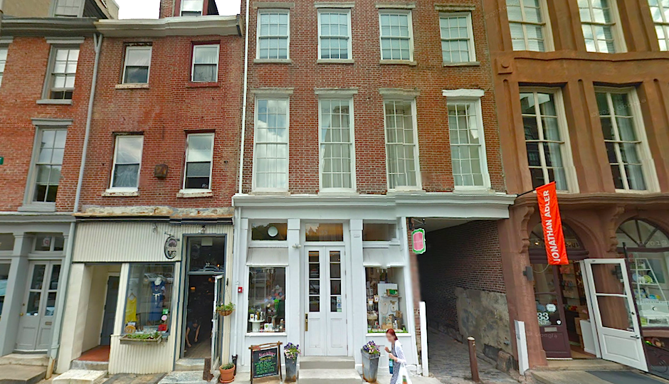 Screenshot of  the former Ligne Roset at 35 N 3rd Street via Google Street View.