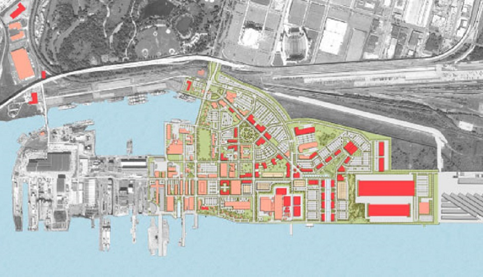The Navy Yard master plan. Photo credit: NavyYard.org