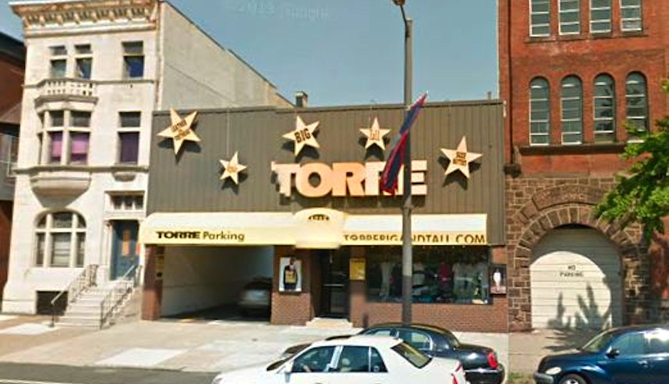 Screenshot of Torre when the Armory was still a neighbor via Passyunk Post.
