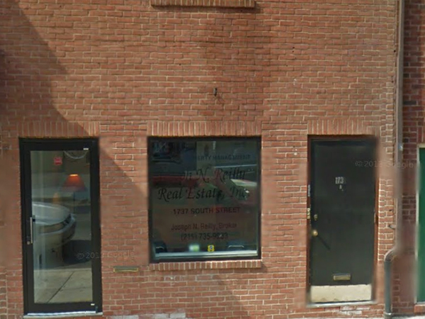 The old Reilly Real Estate office as seen in a Google Street View image