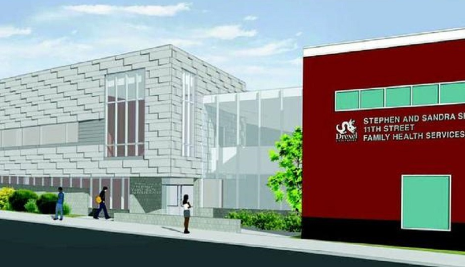 Rendering of the expansion Photo via the Philadelphia Business Journal.