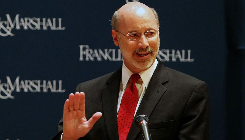 Tom Wolf. AP Photo | Chris Knight, Intelligencer Journal