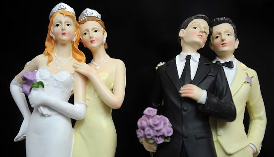 Gay Cake Toppers