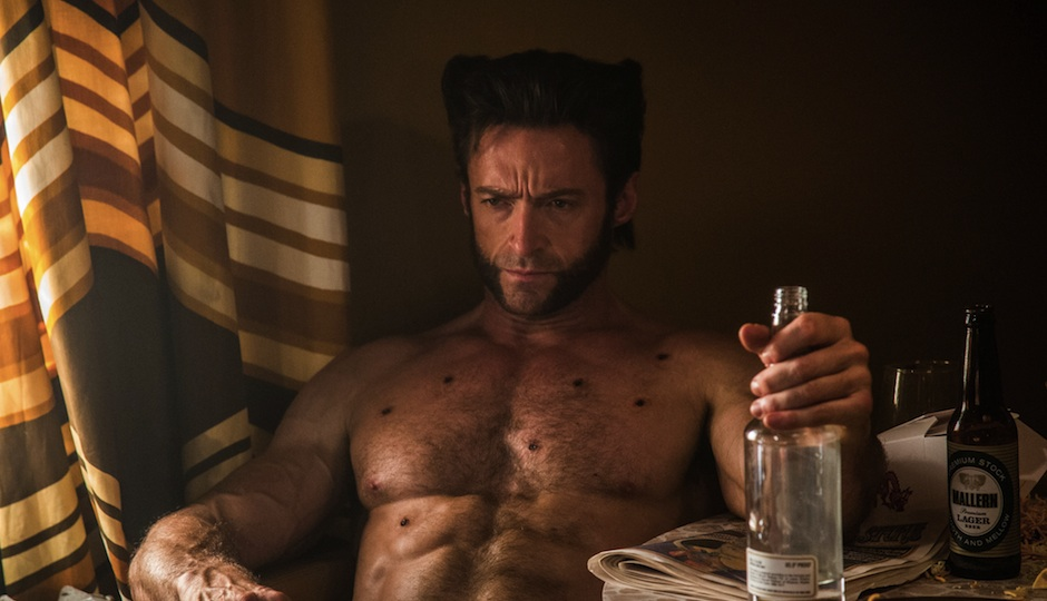 "Hugh Jackman in ""X-Men: Days of Future Past."""