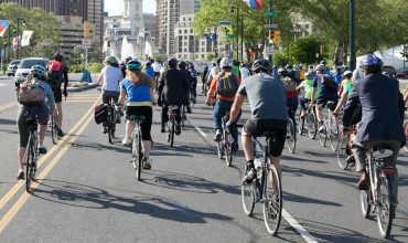 National Bike to Work Day Ride 2013 // Photo via Facebook