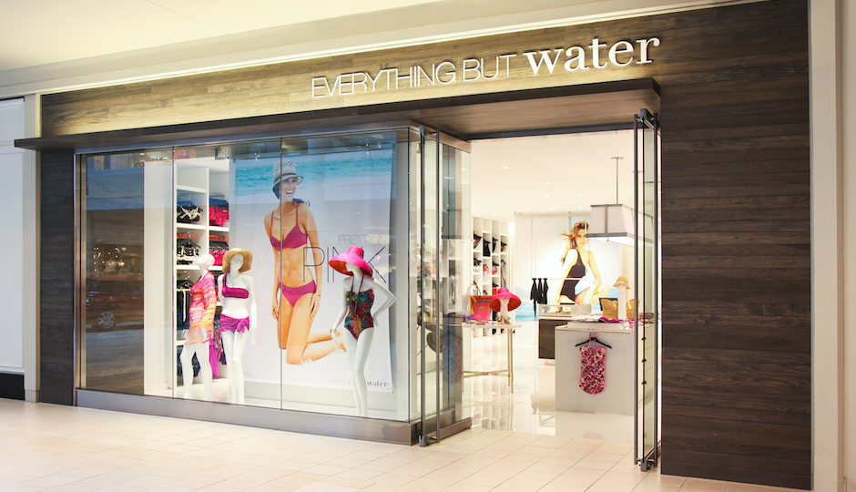 Everything But Water will open tomorrow at the King of Prussia Mall