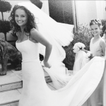 Giada as a bride in 2003. Instagram/giadadelaurentiis