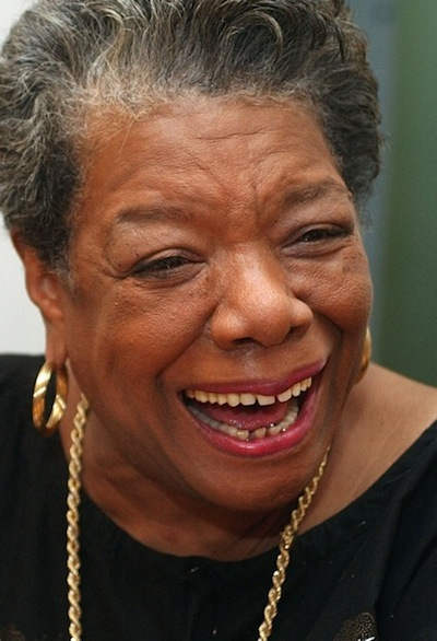 Maya Angelou/ASSOCIATED PRESS