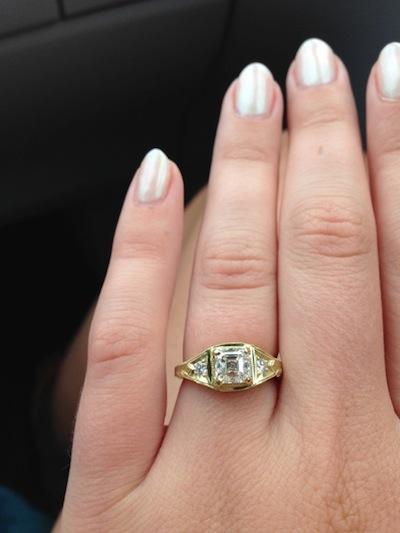 Alex's ring!