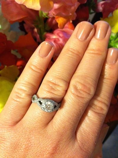 Samantha's ring!
