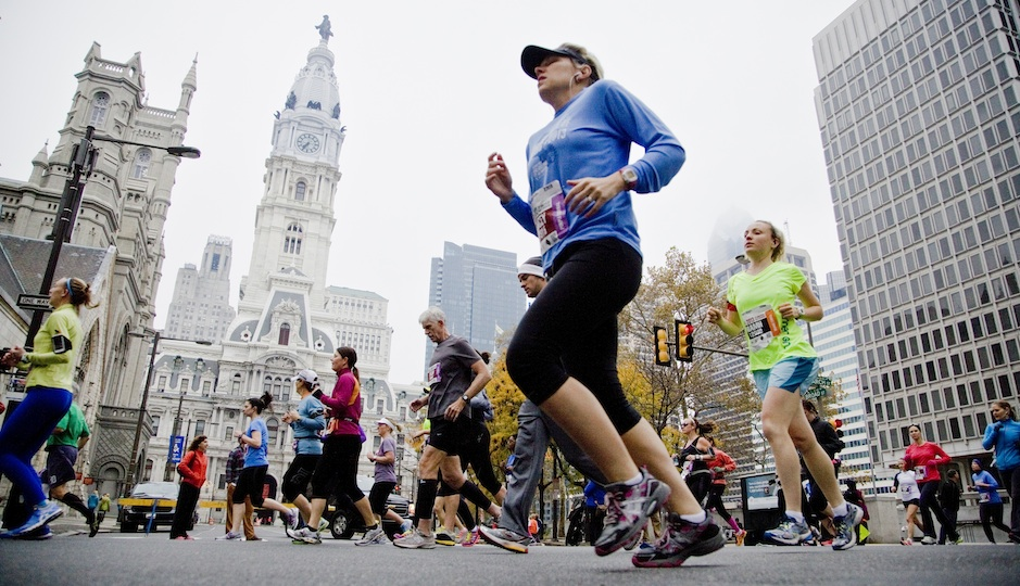 Philadelphia Marathon | Photo by M. Edlow for VISIT PHILADELPHIA