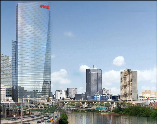 Cesar Pelli S Fmc Tower Breaks Ground Today With Fireworks