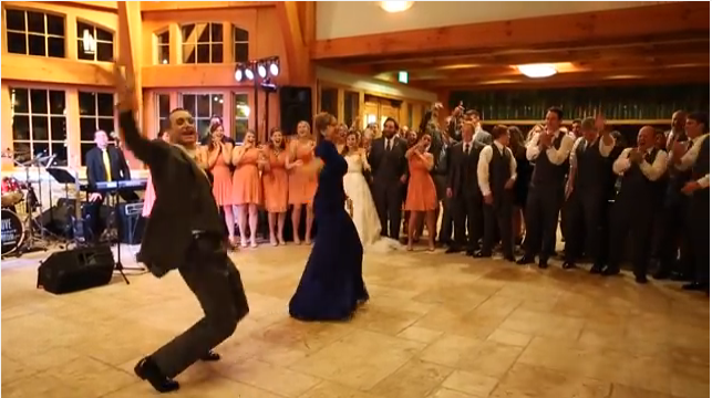 VIDEO: This Has Got To Be The Most Fun Mother-Son Wedding