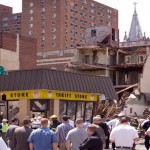 Photo by Bradley Maule from  June 5, 2013 collapse at 22nd and Market.