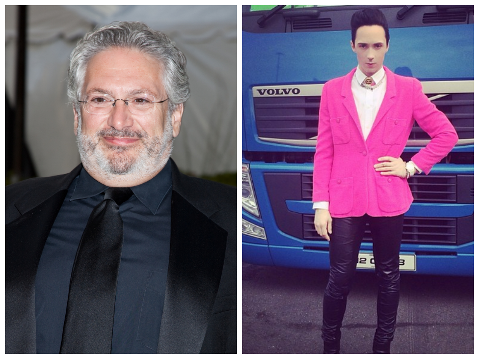 johnny weir harvey fierstein