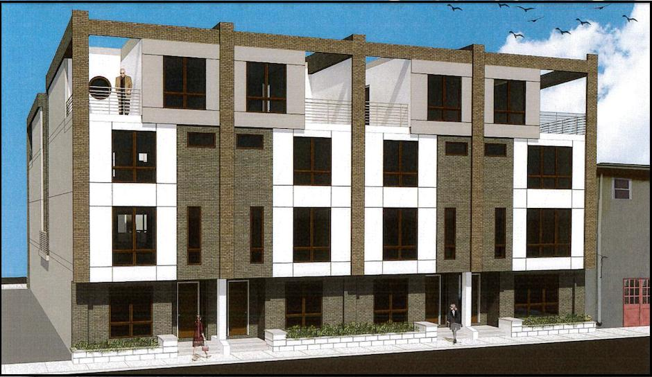 Liberty Estates rendering by Arbitare Architects.