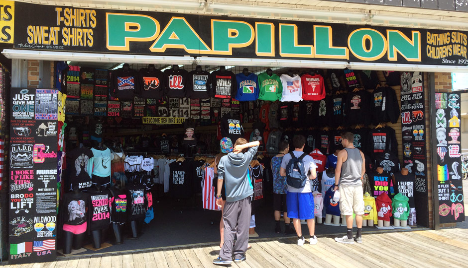 The Hottest Wildwood Boardwalk T-Shirts of Summer 2014 | News ...