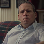 "Steve Carrell is barely recognizable as Philadelphia multi-millionaire John du Pont in ""Foxcatcher."""