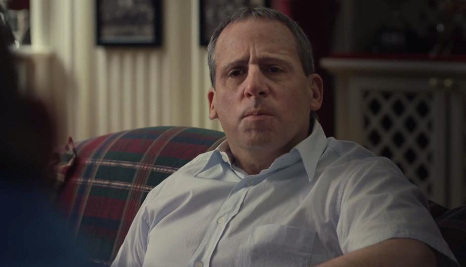 """Steve Carrell is barely recognizable as Philadelphia multi-millionaire John du Pont in """"Foxcatcher."""""""