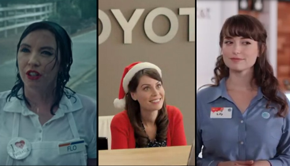 Which Tv Ad Babe Is For You Progressive S Flo Toyota S