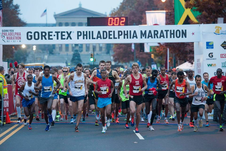 2013 Philadelphia Marathon| Photo via Facebook