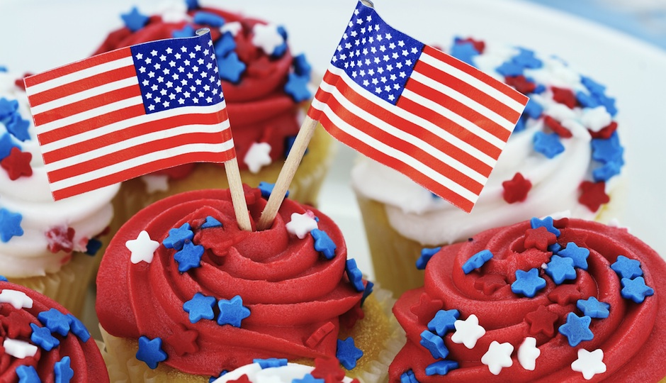 Betsy Ross Cupcakes