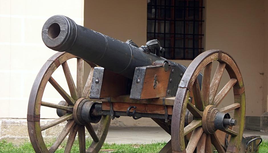 Continental Army Cannon Drill