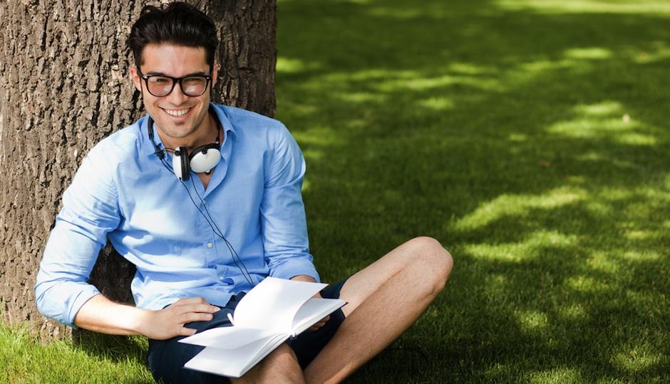 Guy Reading