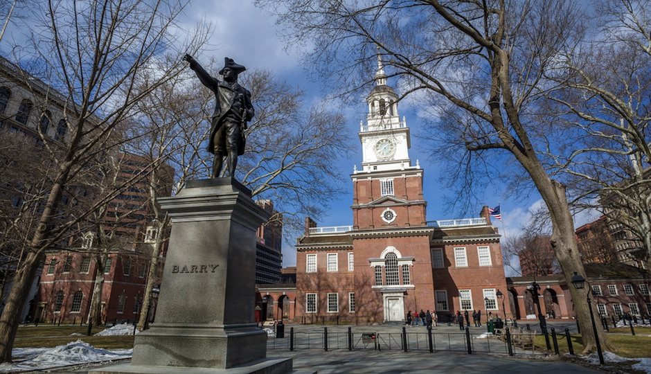 Hike to Independence Hall