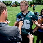 Zach Ertz. (Jeff Fusco)