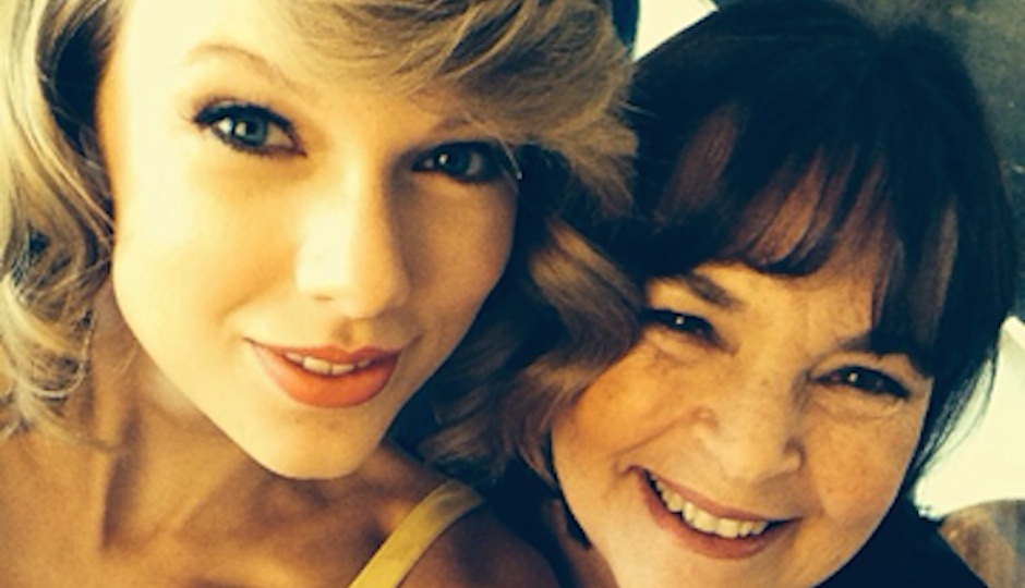Ina Garten and Taylor Swift