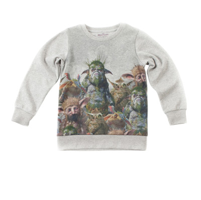 We adore this tomboy sweatshirt.