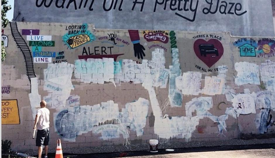 Mural Buffed
