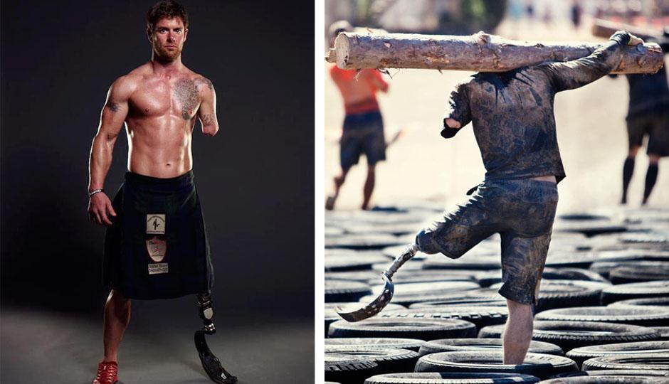 Noah Galloway // Photos via Men's Health