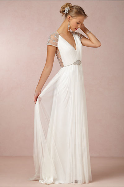 BHLDN's Tallulah gown, originally $3,200, now priced at $2,000.