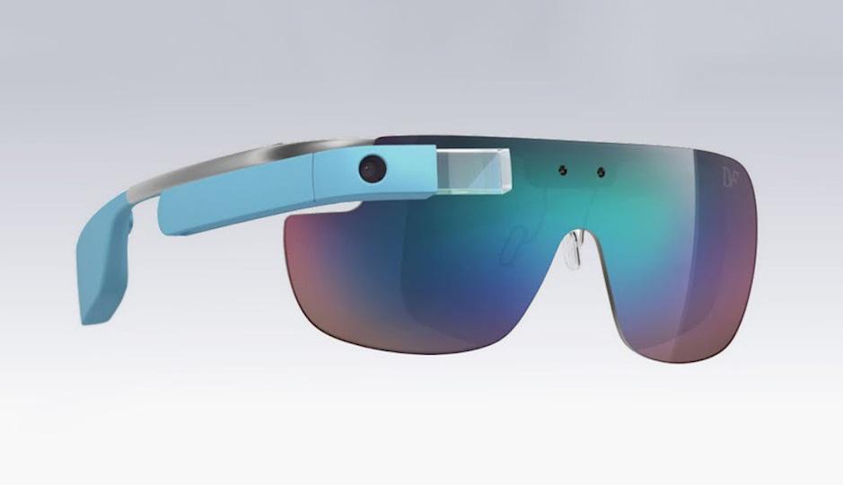 Diane von Furstenberg's version of Google Glass.