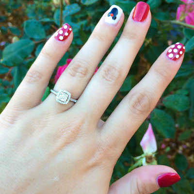 Danielle's ring!