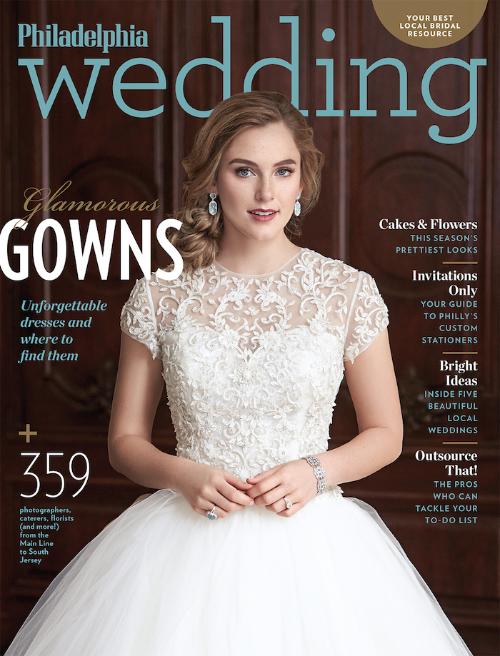 The fall/winter 2014 issue of Philadelphia Wedding will be on stands June 30.