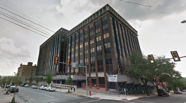 Montgomery Plaza office buildings, courtesy of Google Street View