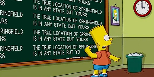 Springfield Pa Ranks High On Most Like The Simpsons List