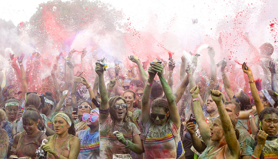 The Color Run | Photograph by Cara Worcester