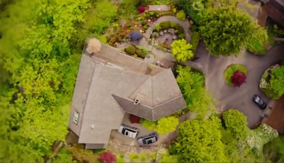 drone real estate video