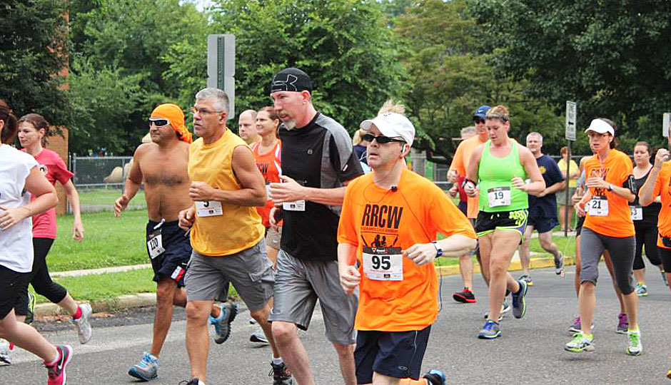 Runners at last year's Hot Run in the Summertime 5K | Photo via Facebook