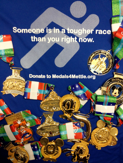 Race Medal Donation Malinda Hill's Race Medals For