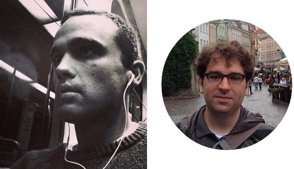 Joshua Scott Albert (left); Micah Mahjoubian