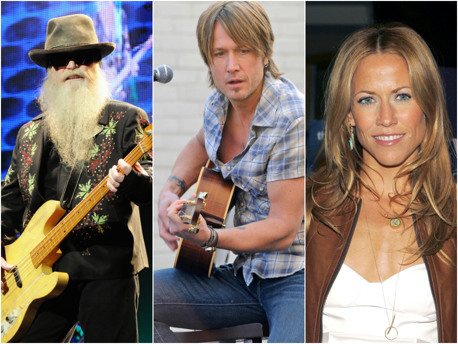 ZZ Top, Keith Urban and Sheryl Crow are among the headliners playing the TK Stage at this year's Muzikfest.